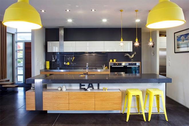 Giải pháp cho căn bếp thiếu ánh sáng tự nhiên
